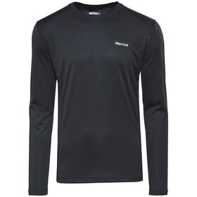 Marmot Windridge Langærmet T-shirt Herrer sort